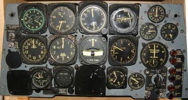 Collection tableaux de bord avion et instruments de bord - Cockpit avion a vendre ...